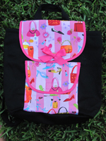 Girly Girl Toddler Backpack