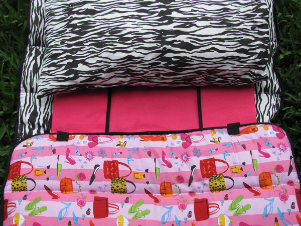 Girly Girl Preschool Napmat
