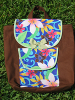 Tropical Splendor Toddler Backpack